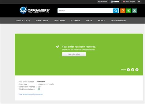 4Games : OffGamers Support Center