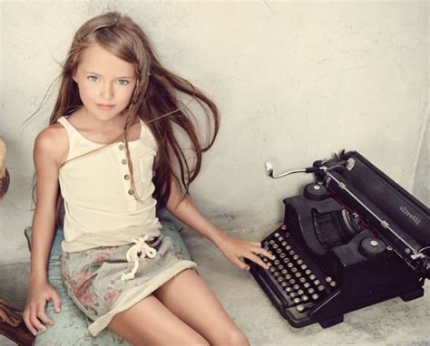 Is nine-year-old model Kristina Pimenova from Russia being