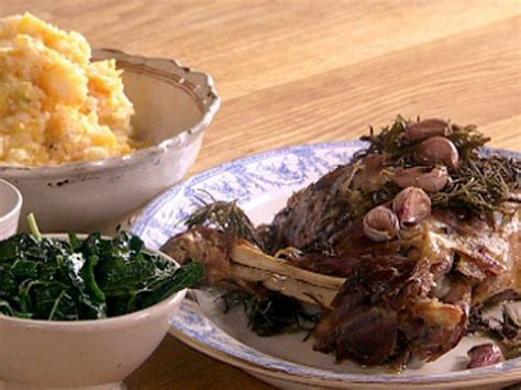 Incredible Roasted Shoulder of Lamb with Smashed