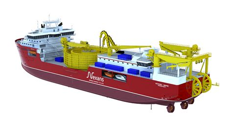 ULSTEIN VERFT TO CONSTRUCT CABLE LAYING VESSEL FOR NEXANS