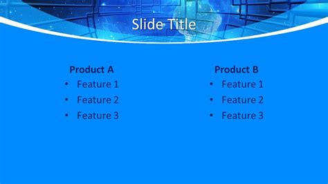 Free Global Technology Concept PowerPoint Template - Free