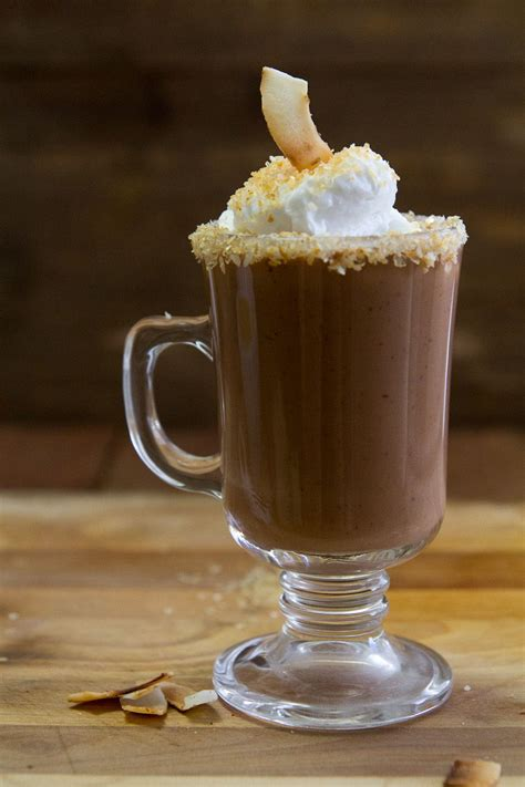 Coconut Chai Hot Chocolate - Indiaphile