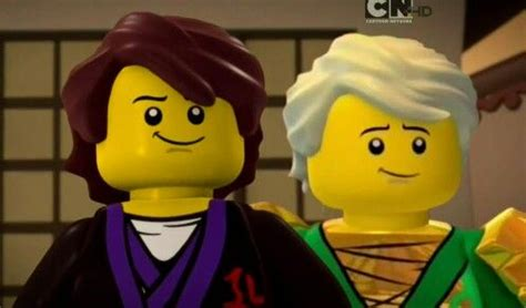 Father and son Younger Garmadon and Lloyd they are like