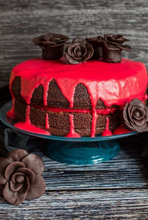 Bloody Good Double Chocolate Halloween Cake - The Best
