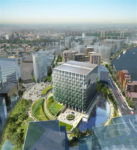 One Nine Elms Towers - Office Building - e-architect