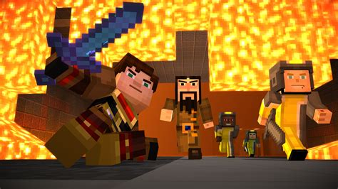 Watch the launch trailer for Minecraft: Story Mode Episode
