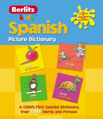 Spanish Picture Dictionary - Dictionaries For Kids