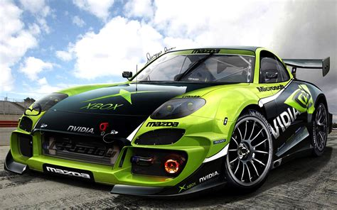 Quality Wallpapers of Mazda Rally and Racing Sports Cars