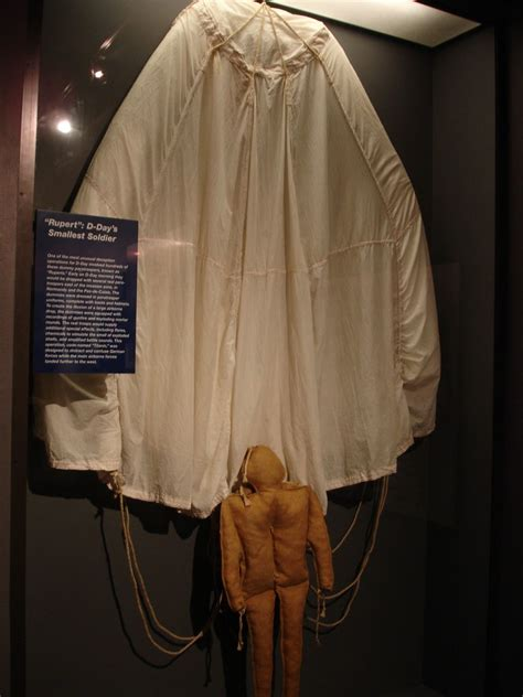 """""""Rupert"""" Dummy Paratrooper, National D-Day Museum, New Orl"""