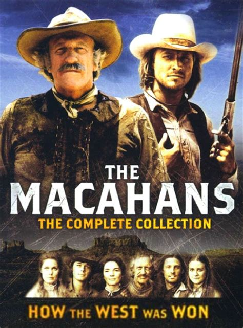 How the West Was Won / The Macahans (1976 – 1979) 14 x DVD