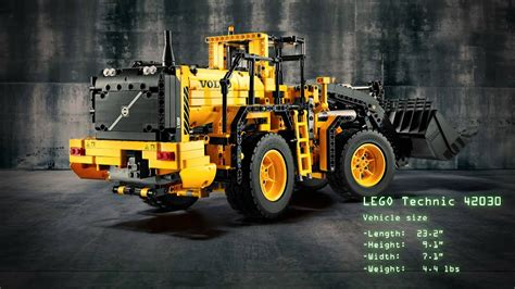 LEGO Technic Introduces the Volvo Wheel Loader and