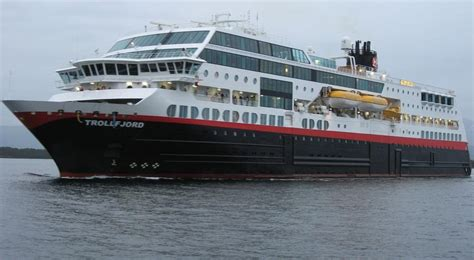 MS Trollfjord - Itinerary Schedule, Current Position
