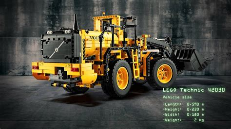 LEGO Technic Introduces the Volvo Wheel Loader - YouTube