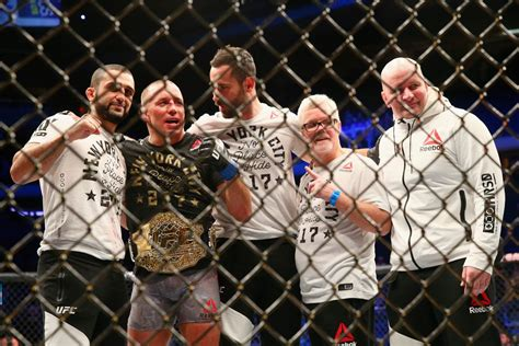 UFC 217: Michael Bisping vs Georges St-Pierre - Winners