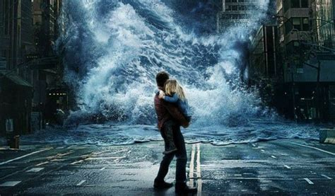 Geostorm Poster Leaves No Way Out from the Storm