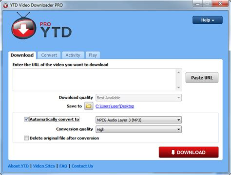 YouTube Downloader - Free software downloads   YouTube