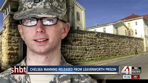 Chelsea Manning released from Leavenworth prison - YouTube