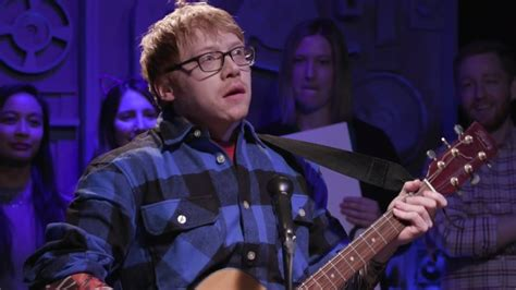 Rupert Grint Claims He INVENTED Ed Sheeran In Hilarious