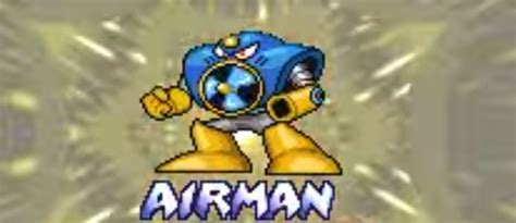 Air Man from the MegaMan series – Game Art