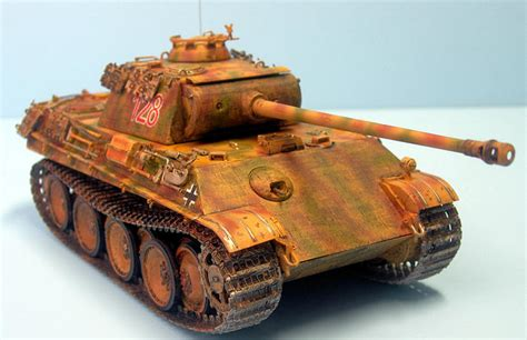 Dragon 1/35 Panther G with Zimmerit, by Blair Stewart